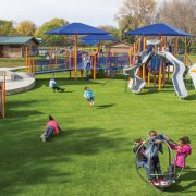 Artificial Playground Turf, Artificial Playground Grass, Genesis Play-Safe Systems