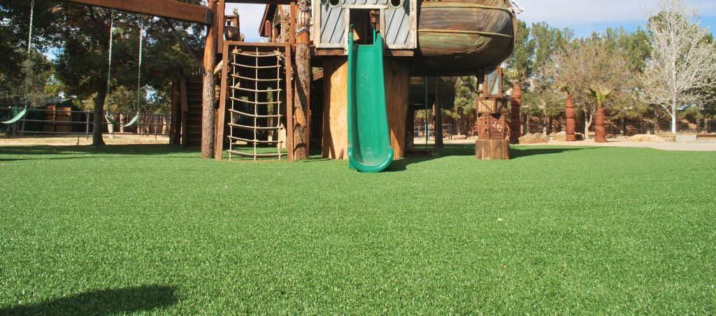 Artificial Playground Turf, Artificial Playground Grass, Genesis Play-Safe Turf